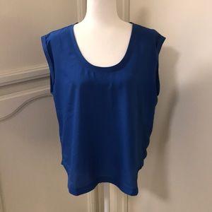 J. Crew sleeveless dress shirt